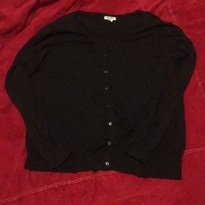 3 for $15💜Old Navy Black XL Cardigan